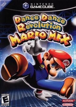 DanceDanceReveloutionMarioMixCover