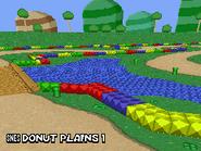 MKDS Donut Plains
