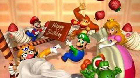 Mario Party Princess Peach's Birthday Cake