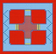 Battle Course 2 - Map - Mario Kart Super Circuit