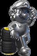 Metal Mario Artwork 2 - Mario Kart 7