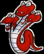 Tryclyde Art (Super Mario Bros. 2)