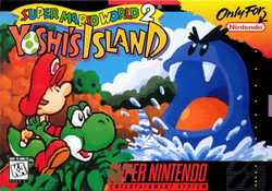 Super Mario World 2 - North American Boxart