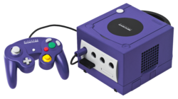 Nintendo GameCube - Purple Model