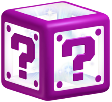Mystery Box Art - Super Mario 3D Land