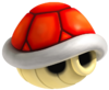 Red Shell Artwork - Mario Kart Wii