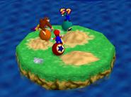 Bumper Balls Level 3 - Mario Party 2
