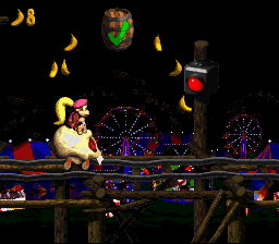 Image result for donkey kong country 2 roller coaster levels