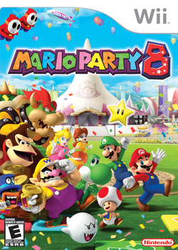 Mario Party 8 - North American boxart