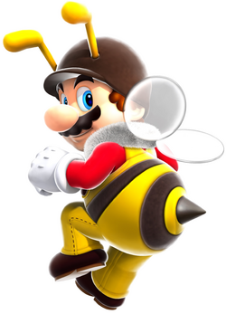 Bee Mario Artwork - Super Mario Galaxy