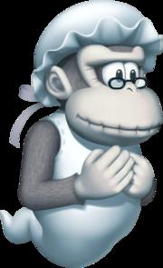 Wrinkly Kong Art (DK Jungle Climber)