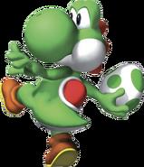 Yoshi Artwork - Super Mario 64 DS