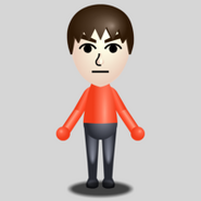 A basic male mii
