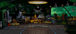 The Flying Krock - Arena - PAL Region - Donkey Kong Country 2