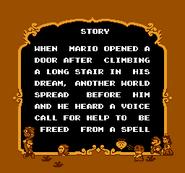 Story Screen - First Half - Super Mario USA