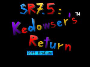 Star Revenge 7.5 Title Screen