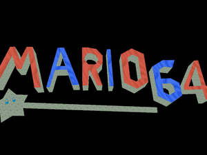 Mario and the Magic Wand Title Screen
