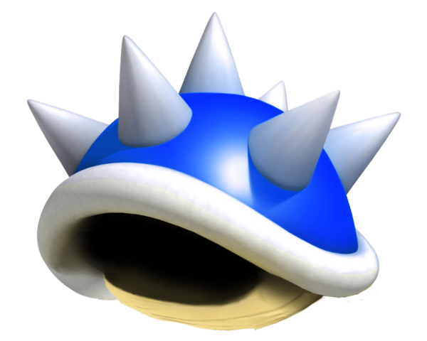File:Spiny Shell - Mario Kart Super Circuit.png