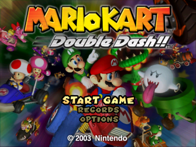 File:Mario Kart Double Dash Alternative Title Screen.png