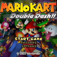 An alternative title screen.