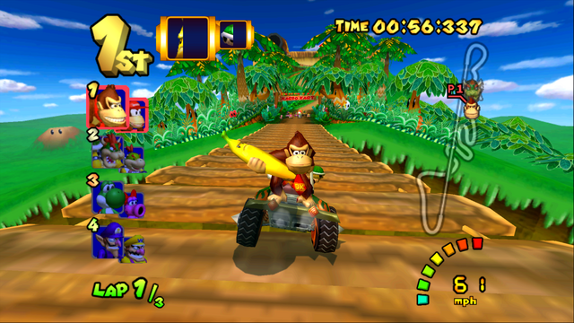 File:DK Mountain - Bridge - Mario Kart Double Dash!!.png