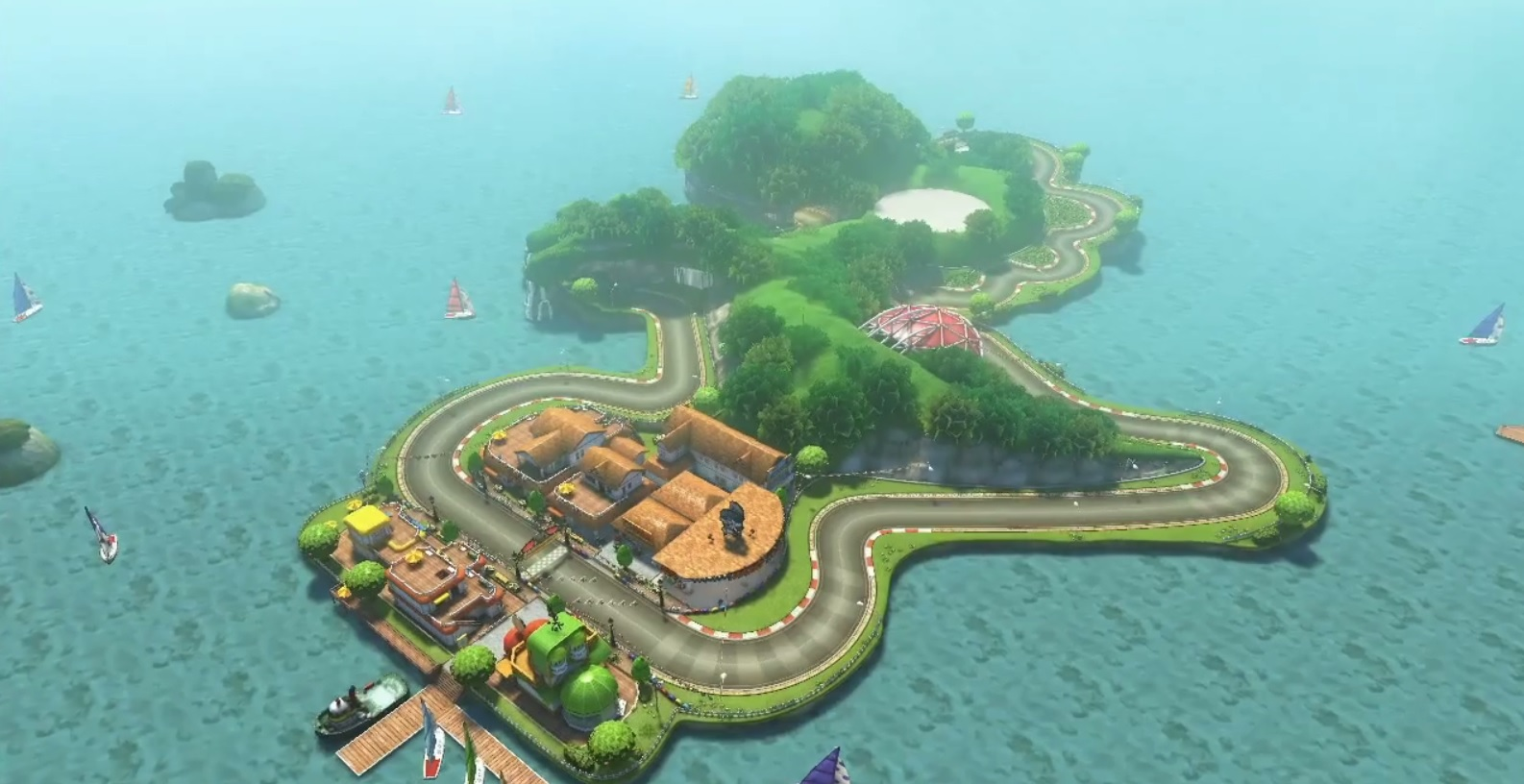 yoshi circuit mario kart racing wiki fandom powered by wikia. Black Bedroom Furniture Sets. Home Design Ideas