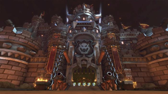 Bowser's Castle (Mario Kart 8)