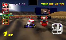Toad & Mario (Wario Stadium)