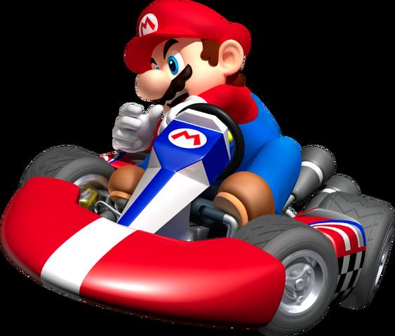File:Mario Artwork - Mario Kart Wii.png