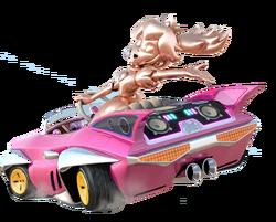 MK8 PinkGoldPeach art