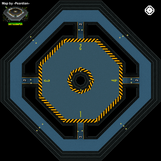 An overhead map of the stage in <i>Mario Kart 64</i>.