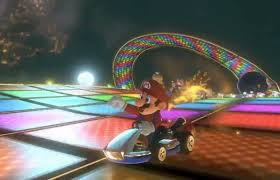 File:Rainbow Road MK8 racing.jpg