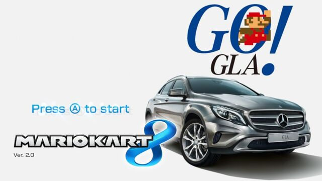 File:Mario Kart 8 Title Screen (Mercedes-Benz GLA).jpg