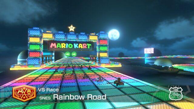 File:SNES Rainbow Road (Mario Kart 8) 11.jpg