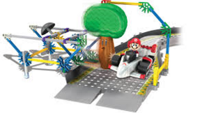 K'NeX Mario VS Delfino Oak Tree Building Set (2)