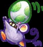 Little Mouser Artwork - Yoshi's New Island