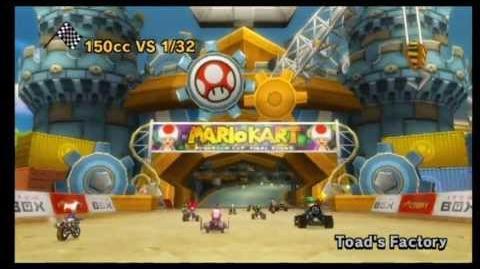 Mario Kart Wii Toad's Factory