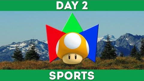 Day 2 - Sports and Mariolympics Open Round 1