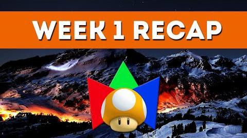 Week 1 RECAP - 2015 Winter Mariolympics