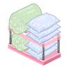 St bath bedding