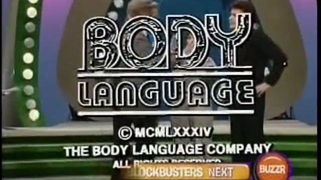 Body Language Long Credit Roll - January 1985