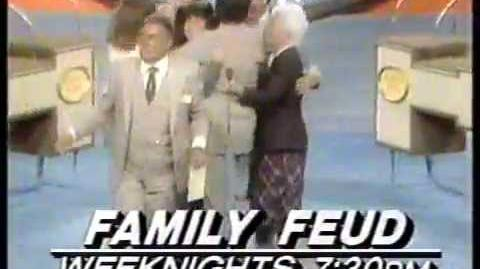 Family Feud 1982 KNBC Just Watch Us Now Promo