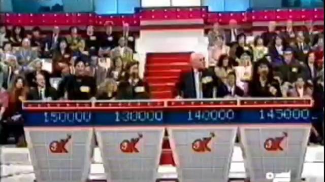 Ok il prezzo è giusto, puntata del 1992 fino alla ruota (canale 5)