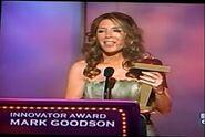 Goodson Cagle acceptance award