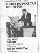 Price is Right 1973 James