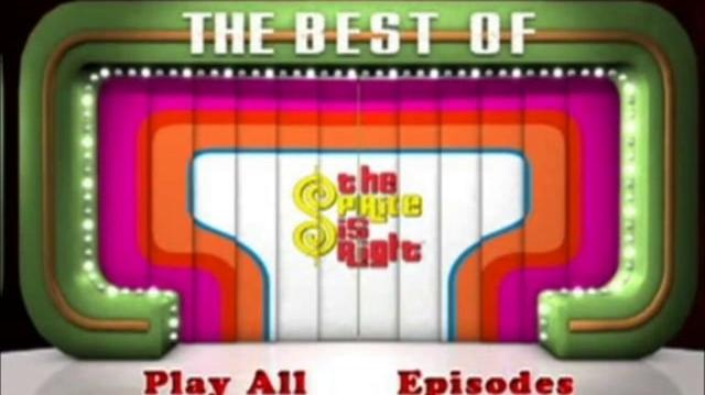 The Price is Right DVD-SD