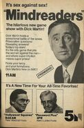 Mindreaders Ad Chicago TV Guide 8 11-17 79 001