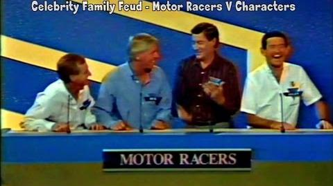 Celebrity Family Feud - Motor Racers v Characters