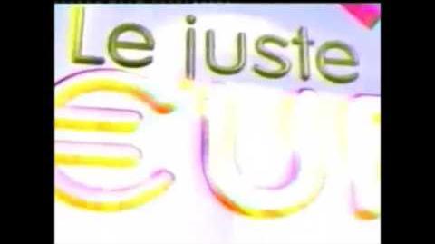 Générique Le juste euro France 2 (2002)