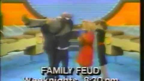 Family Feud (Best of) WOR promo, 1985